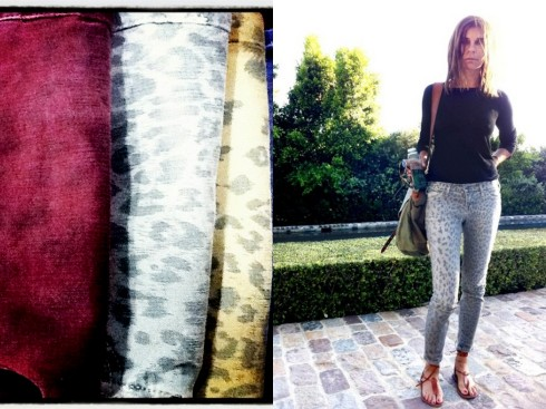 current/elliott leopard denim (via atriumfashion.wordpress.com) + carine roitfeld (via iwanttobearoitfeld.com)