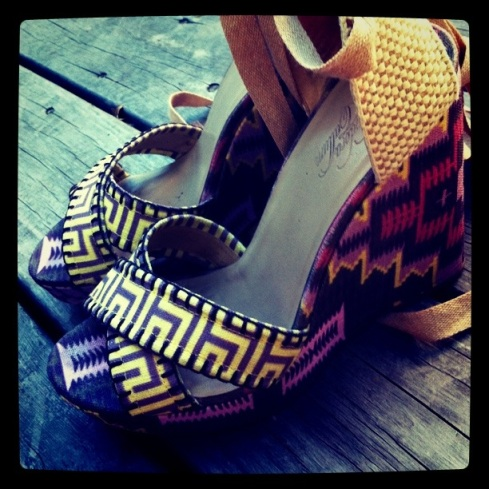 Printed Wedges by Theodora & Callum from Shopbop